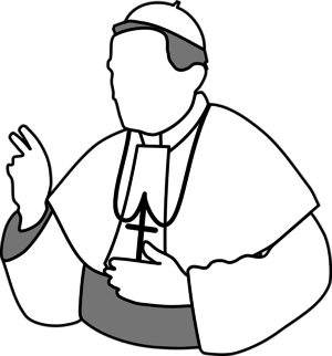 Pope Clip Art.