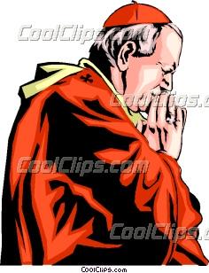 Pope John Paul II Clip Art.