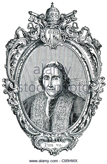 Pope Pius Vii Stock Photos & Pope Pius Vii Stock Images.