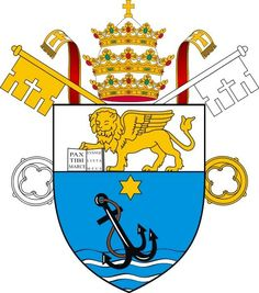 Pope Pius XII's coat of arms.