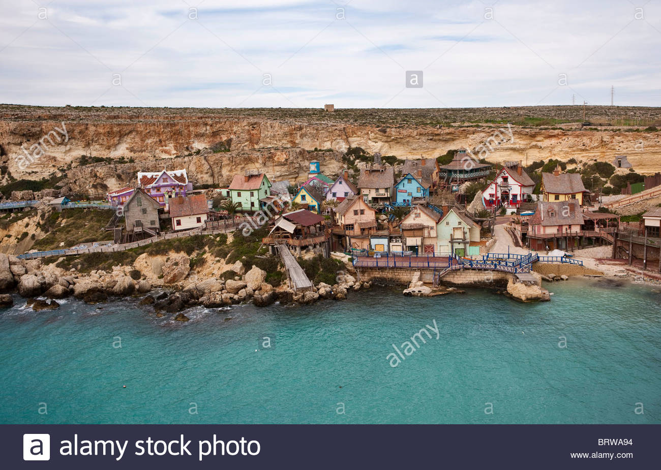 Malta Island, Anchor Bay, Popeye Village (sweethaven Village.
