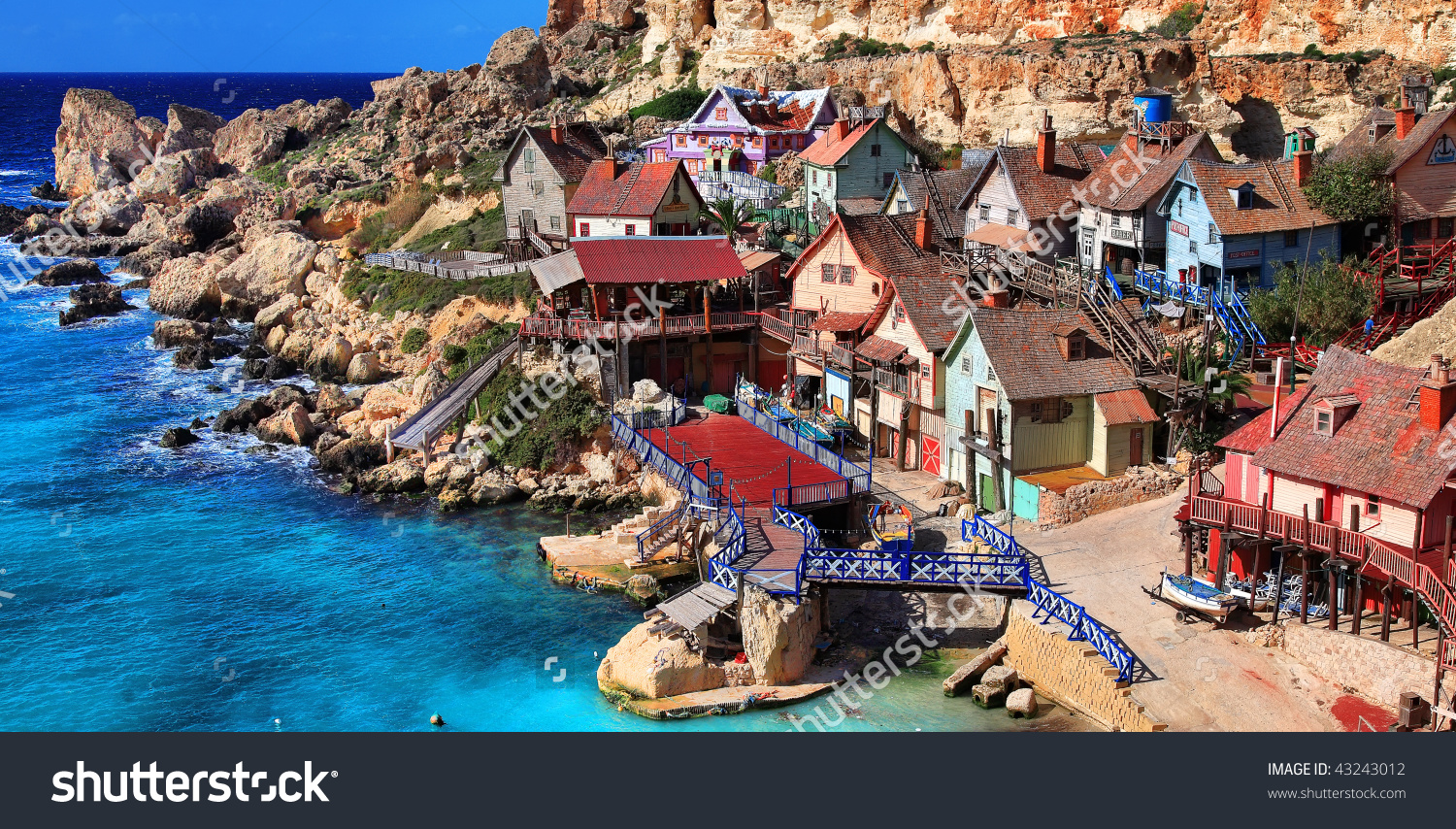 Popeye Village Stock Photo 43243012.