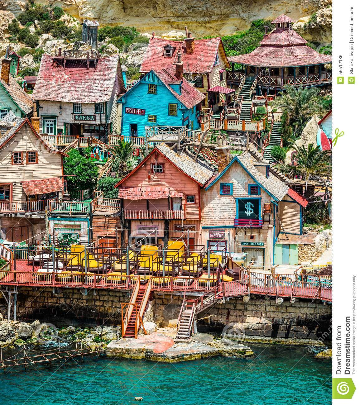 Popeye Village Editorial Photo.