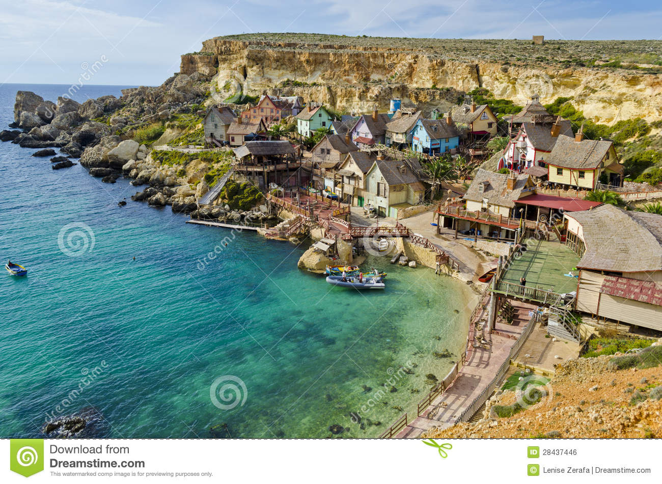 Popeye Village, Malta Editorial Photography.