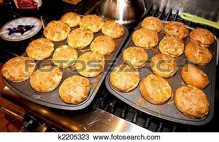 Stock Photo of Popovers k2205323.