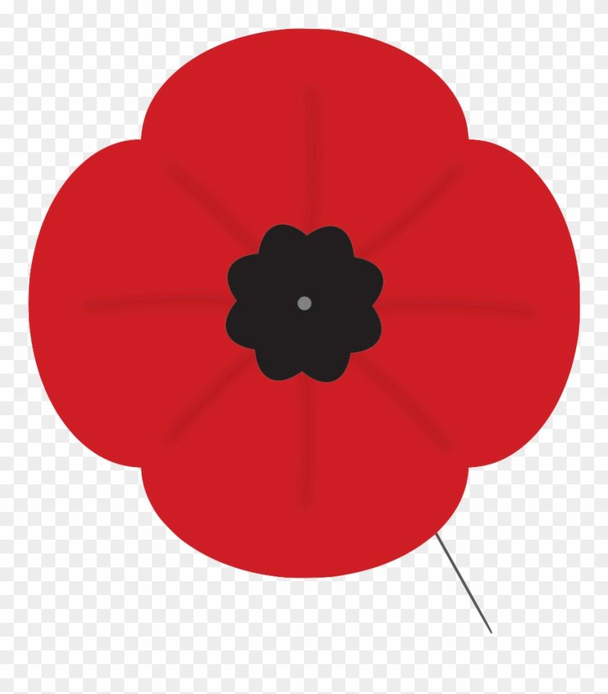 Clip Art Remembrance Day Poppy.