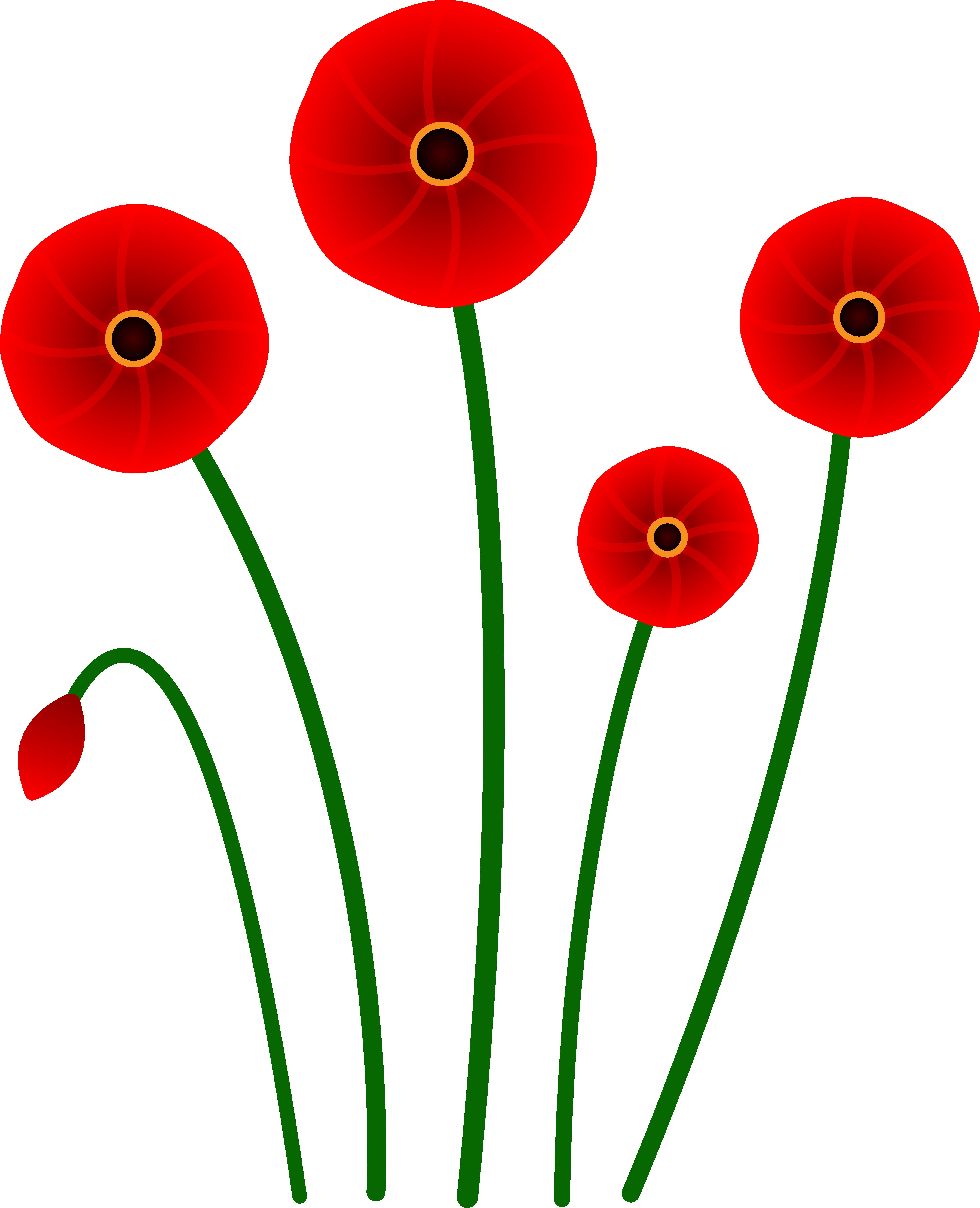 Free Poppy Cliparts, Download Free Clip Art, Free Clip Art.