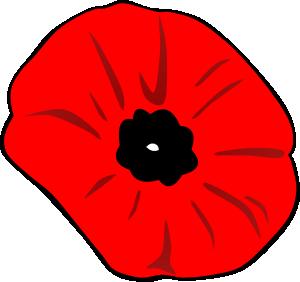 Poppy Remembrance Day Clip Art.