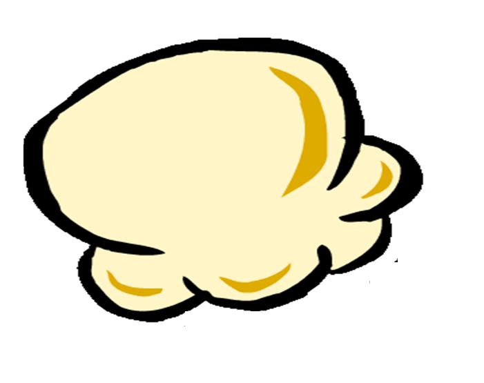 Popcorn Kernel Clipart.