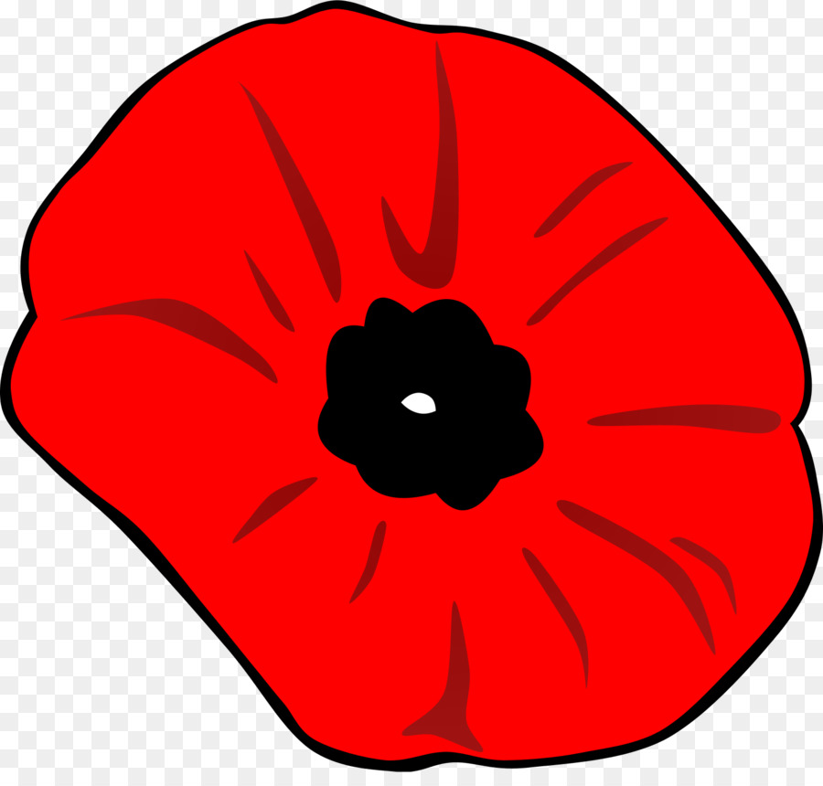 Memorial Day Poppy Flower clipart.
