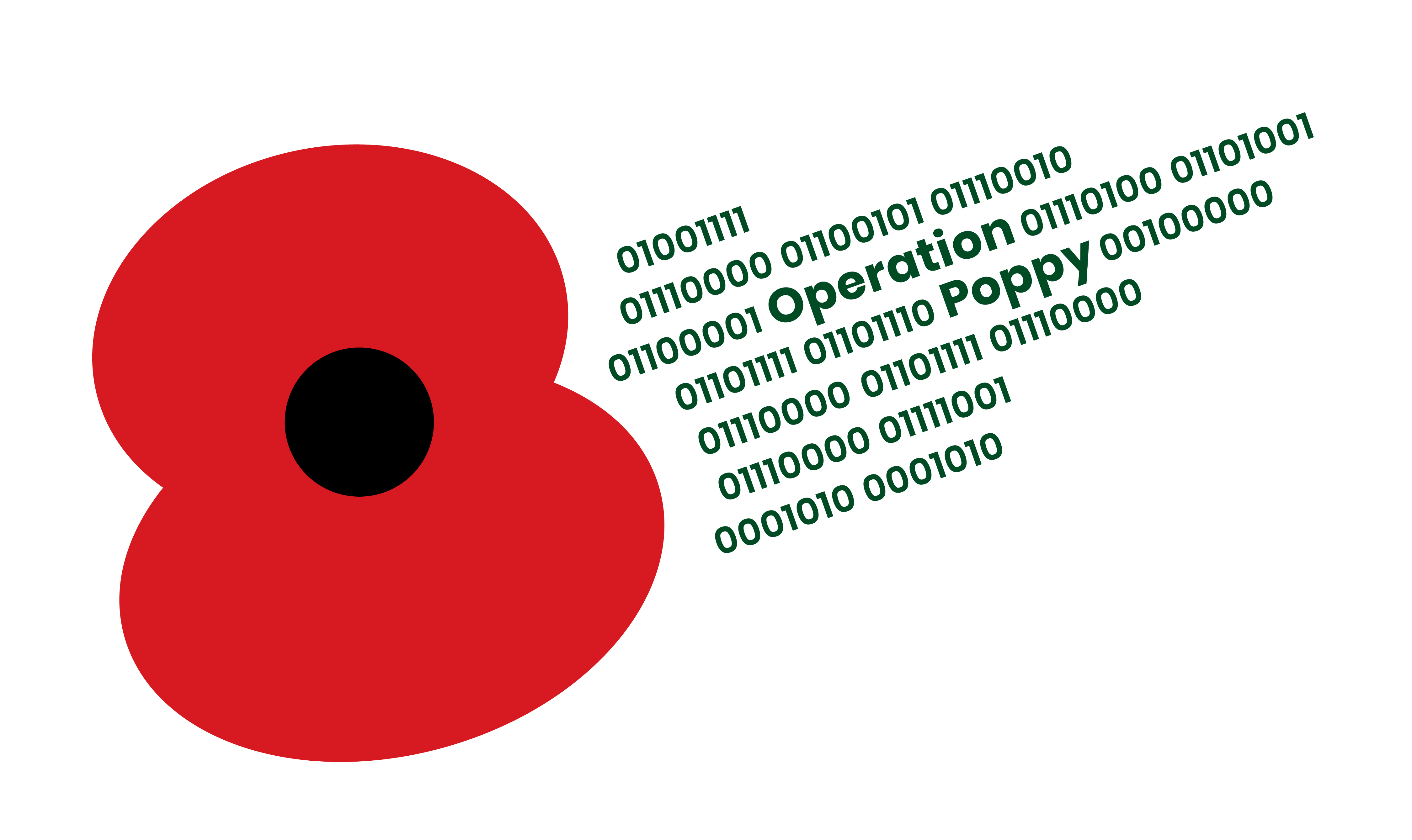 GCHQ supports The Royal British Legion\'s 2019 Poppy Appeal.