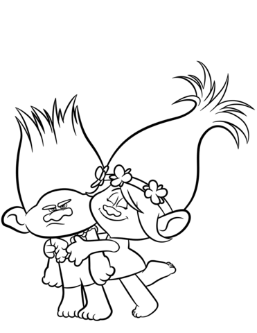Trolls Clipart Black And White.