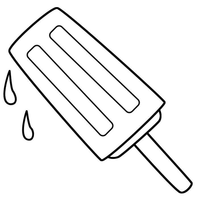 Free Popsicle Clipart Black And White, Download Free Clip.