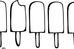 Popsicle clipart black and white 4 » Clipart Station.