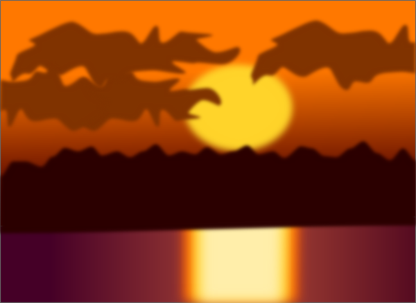 Sunset Clip Art at Clker.com.