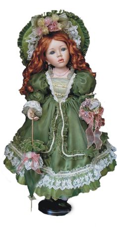 Victorian Collection Genuine Porcelain Doll.