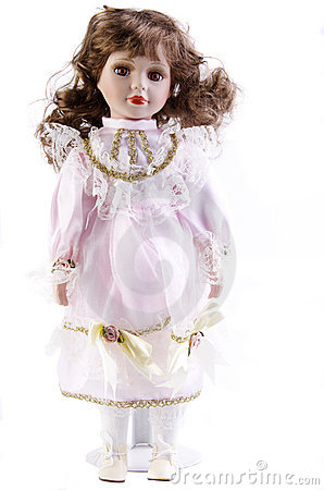 Porcelain Doll White Background Stock Photos, Images, & Pictures.