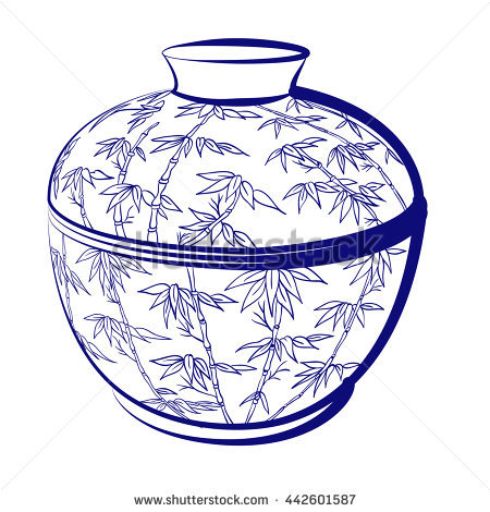 Porcelain Vase Stock Photos, Royalty.