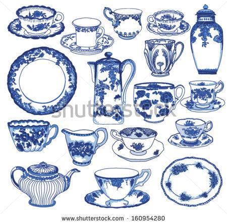 Porcelain Stock Photos, Royalty.