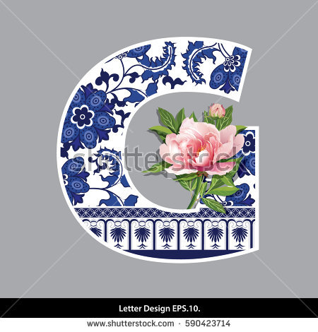 Chinese Flower Stock Photos, Royalty.