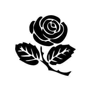 Rose clipart. Free graphics, images and pictures of rosebud.