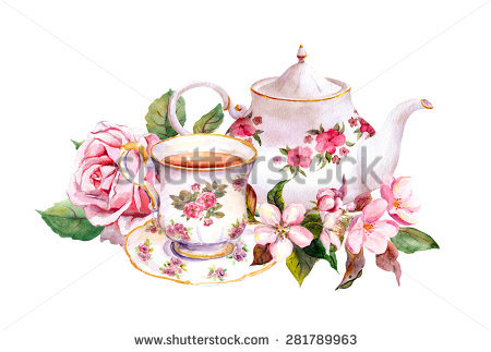 Teacup Stock Images, Royalty.