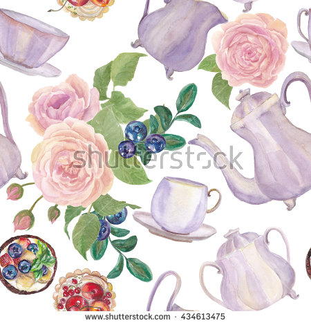 Porcelain Rose Stock Photos, Royalty.