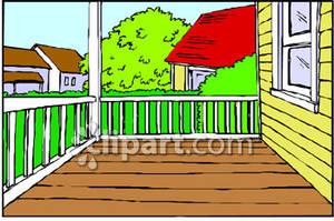 Porch Clipart.