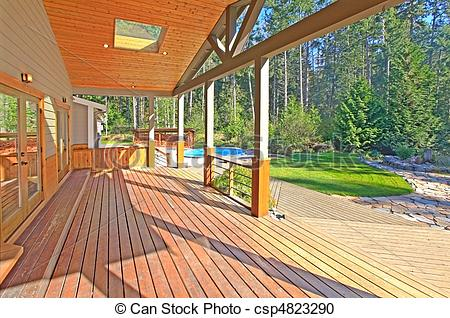 Deck Porch Clip Art.