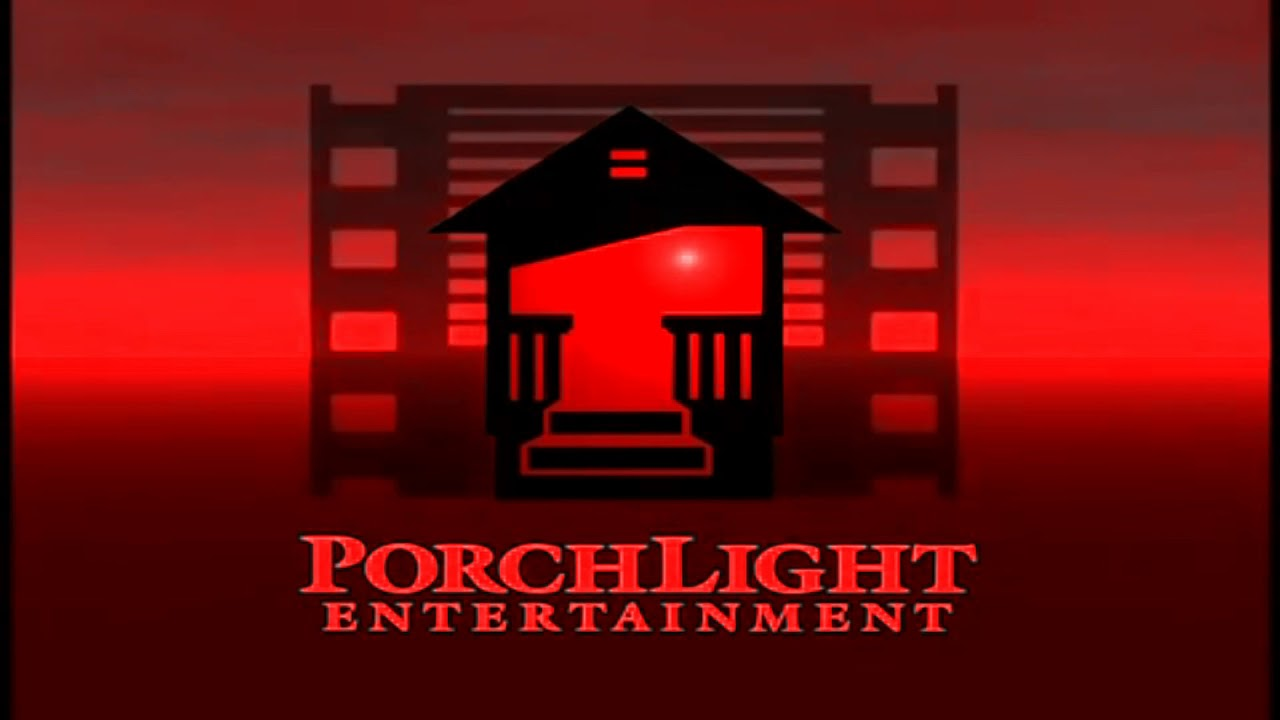 [#1229] Red PorchLight Entertainment logo.