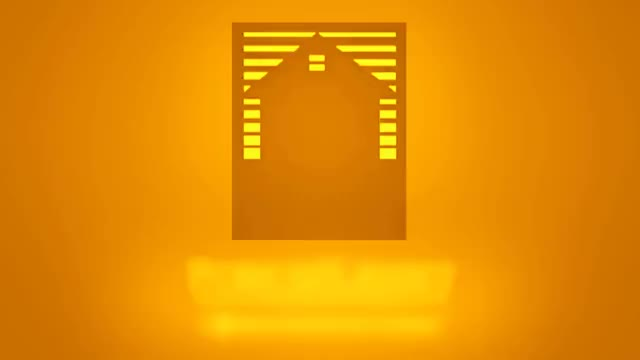PorchLight Entertainment Orange Logo V2 GIF.