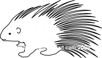 Porcupine Clip Art Free.