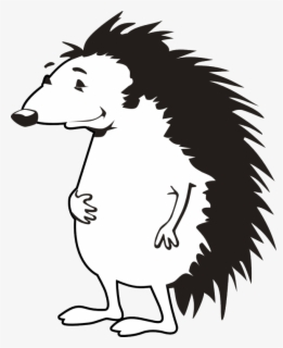 Free Skunk Black And White Clip Art with No Background.