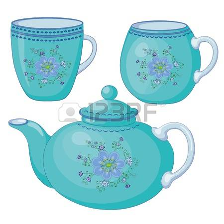 2,407 Porcelain Teapot Stock Illustrations, Cliparts And Royalty.