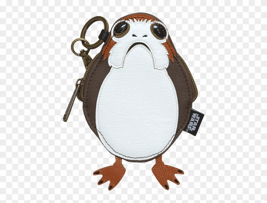 Porg Loungefly Coin Purse.