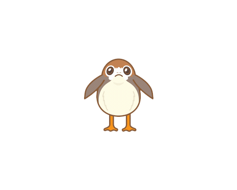 Porg Png Vector, Clipart, PSD.