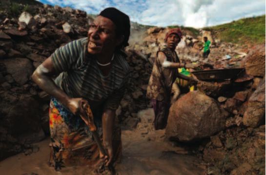 Porgera Joint Venture (PJV) gold mine, Papua New Guinea.