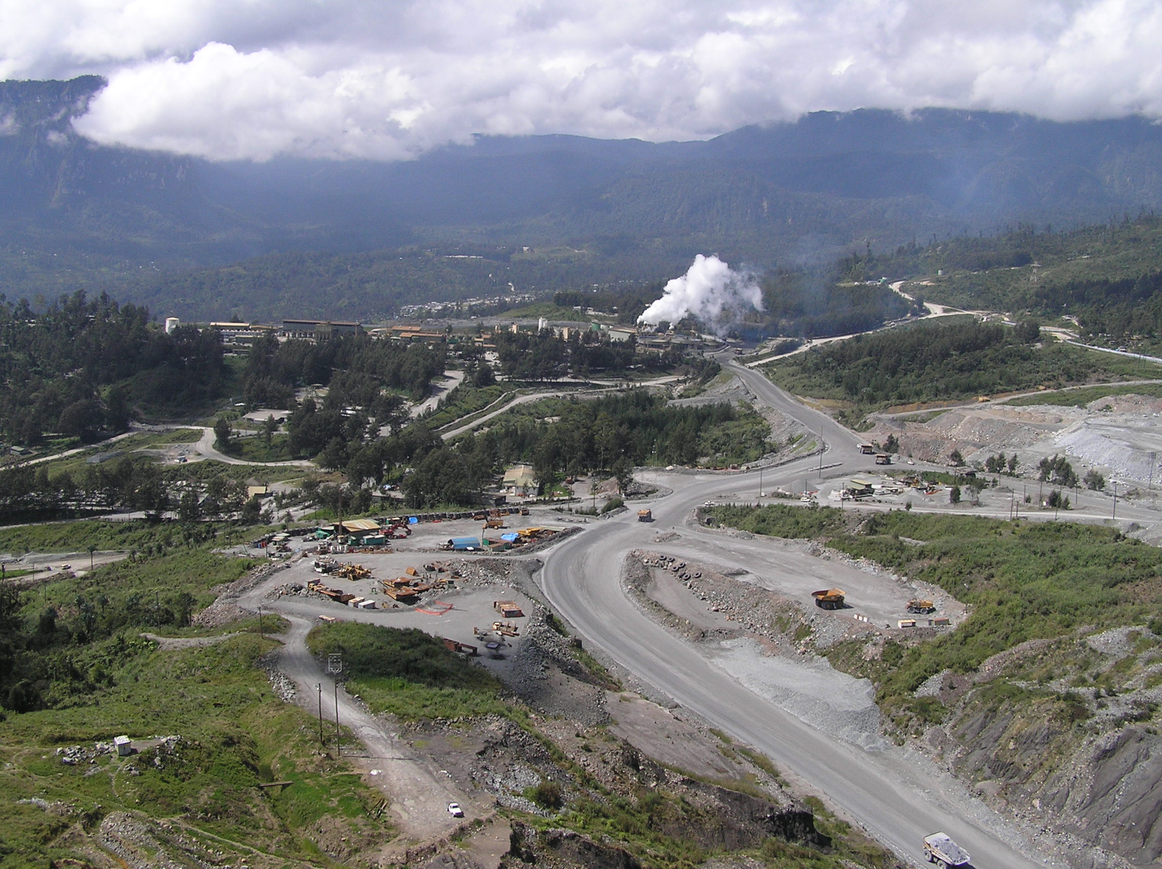 Porgera Gold Mine.