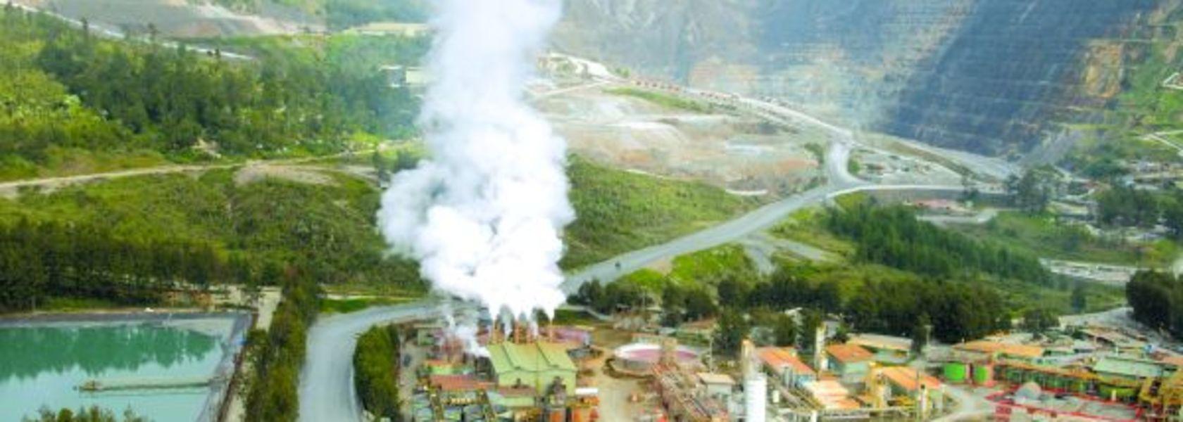 Mining resumes at Porgera.