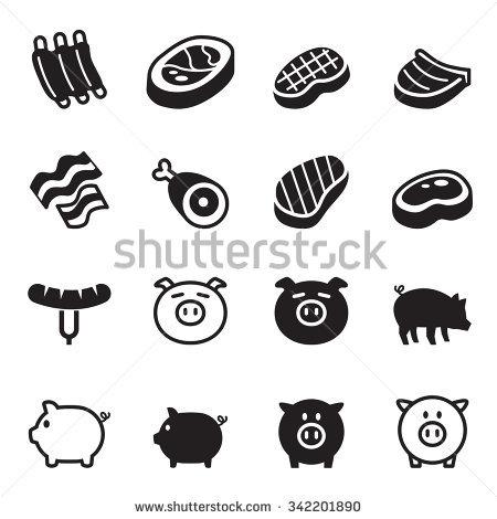 Pork Belly Stock Vectors, Images & Vector Art.