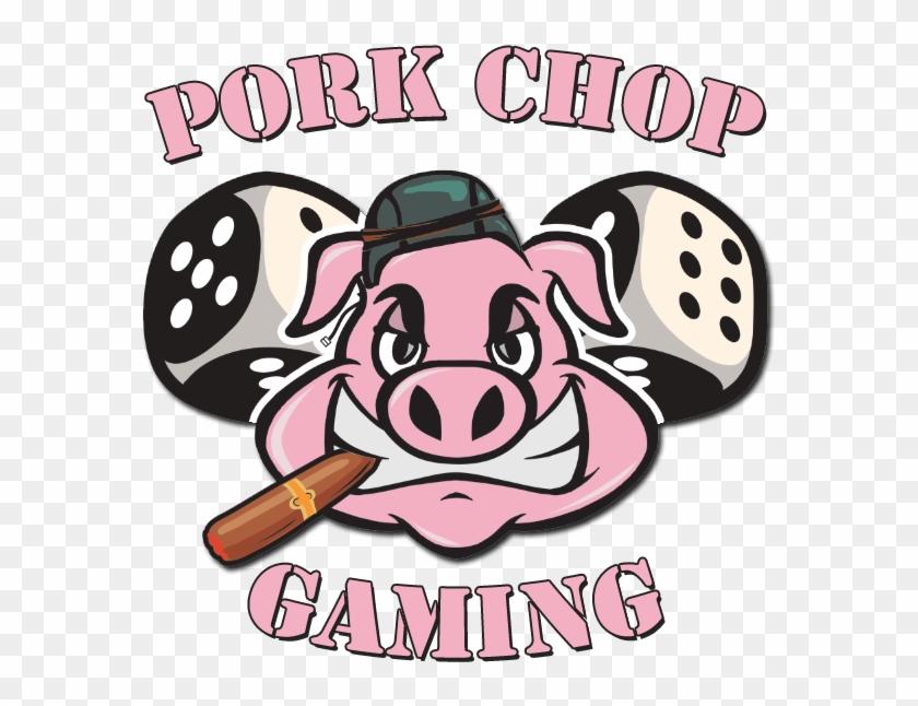 New Pork Chop Gaming Logo & Banner.