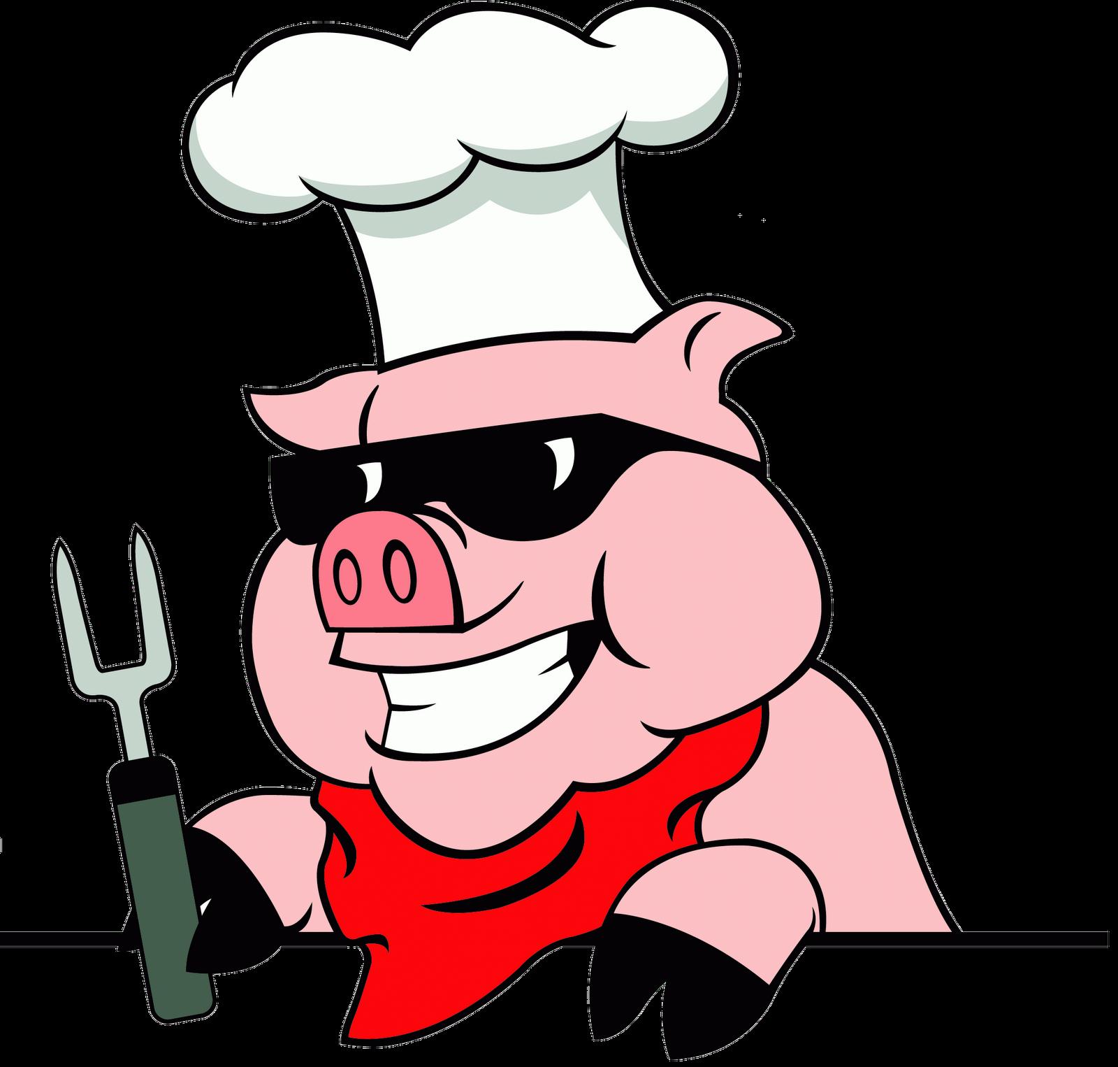 Bbq pork clipart.