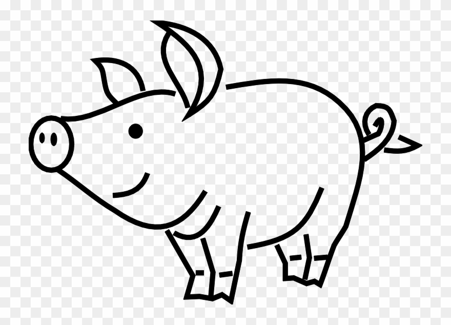 Pigs Png Black And White & Free Pigs Black And White.png.