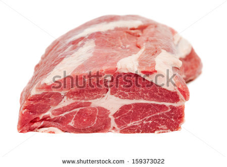 Pork Neck Stock Photos, Royalty.