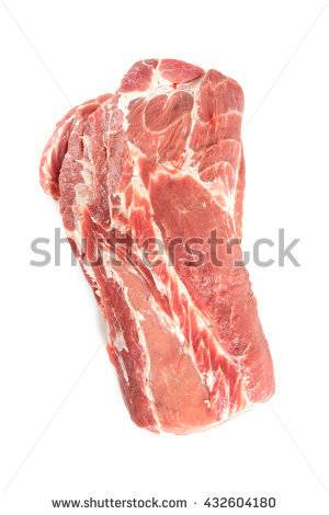 Neck Of Pork Stock Photos, Royalty.