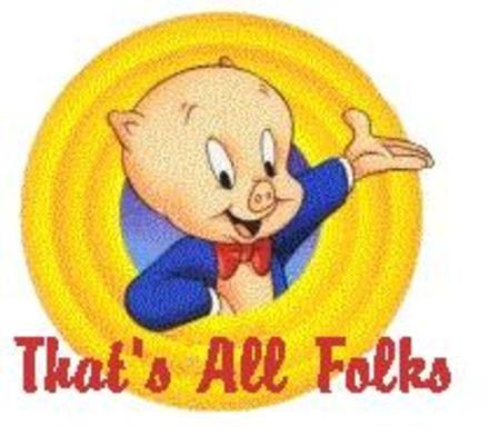 Porky pig clipart.