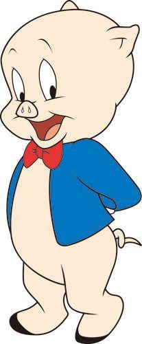 Porky Pig Clipart Sketch 317.