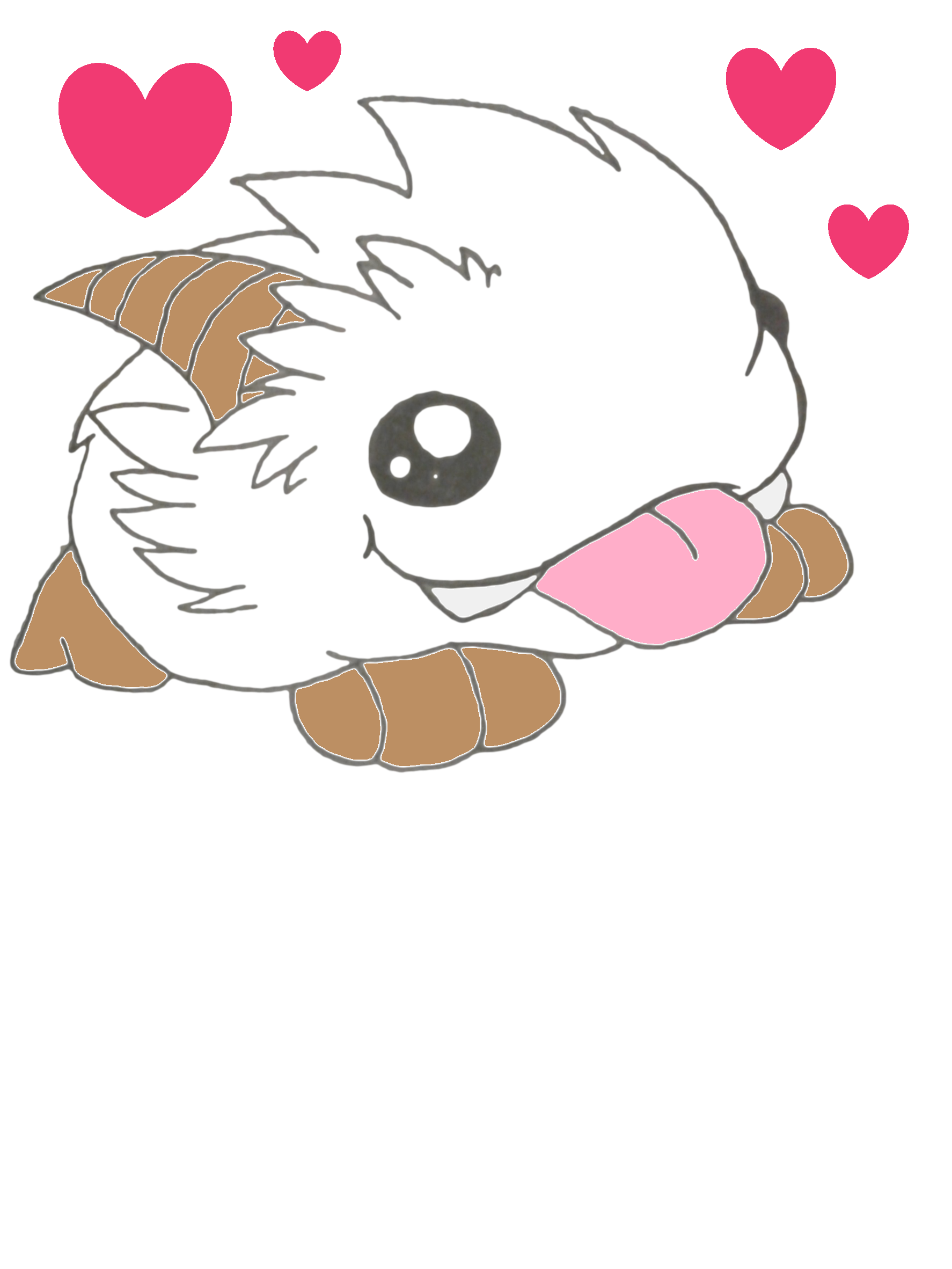 Poro, League Of Legends Drawing.