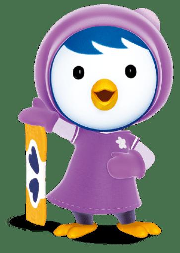 Cartoon Characters: Pororo (PNG).