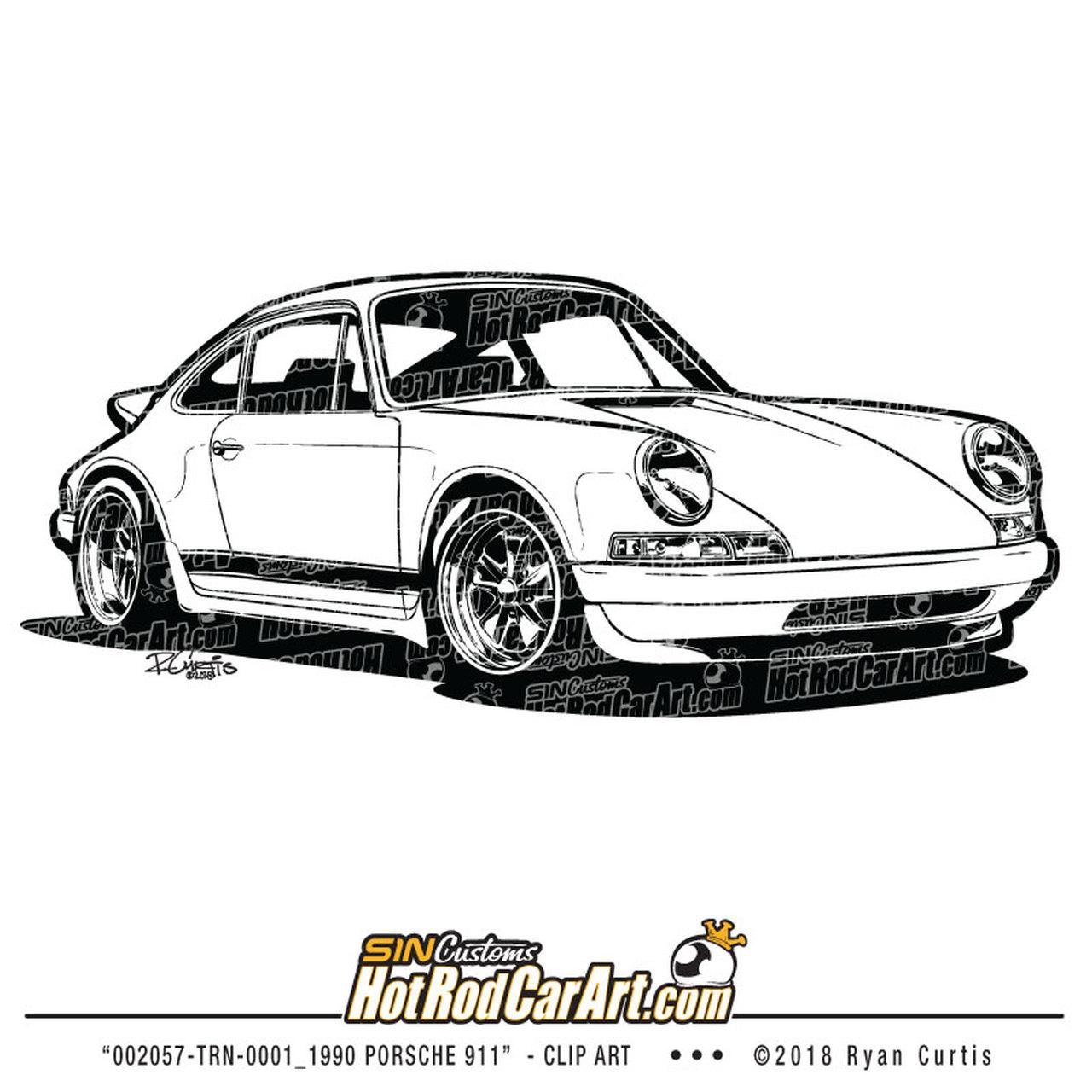 1990 Porsche 911.